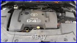 00-06 Toyota Corolla Avensis Verso 2.0 D4d 1cd Ftv Engine + Pump + Injectors