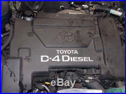 2001 Toyota Avensis Gls D-4d 2.0 Diesel Manual Bare Engine (breaking) 1cd-ftv