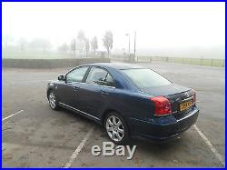 2004/54 Toyota Avensis 2.0 Dieselt4 D-4d Low Reserve S/history 1 Owner Hpi Clear
