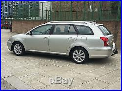 2004 Toyota Avensis 2.0 D-4D T3-S 5dr MET SILVER BLACK CLOTH SEATS SAT NAV 1150£