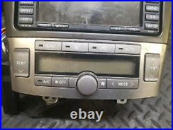 2007 Toyota Avensis 2.0 D-4d Sat Nav Navigation Stereo Radio 08662-00990