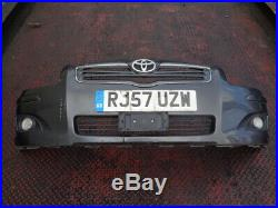 2007 Toyota Avensis 2.0 D-4d T3-x 5dr Estate Front Bumper In Grey With Fogs