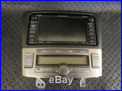 2007 Toyota Avensis 2.2 D-4d 5dr Voice Navigation System 08662-60v560 Aisin