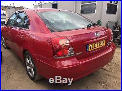 2007 Toyota Avensis 2.2D-4D 180 T180 SPARES OR REPAIRS