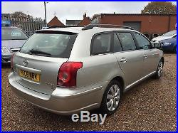 2008 Toyota Avensis 2.0 D-4D T2 Estate, Low Miles, FSH, ANY PX WELCOME