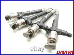 2008 Toyota Avensis 2.2 D-4D Diesel Set Of Fuel Injectors 23670-0R160