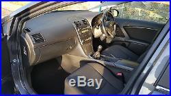 2009/58 Toyota Avensis TR D-4D, metallic grey, 12 mths MOT, Service History, 80k