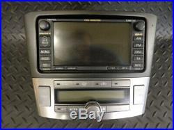2009 Toyota Avensis Tr 2.0 D-4d 5dr Voice Navigation System 08662-00910 Aisin
