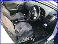 2010 Toyota Avensis T2 2.0 D-4d Silver 4 Door Saloon 249000 Miles