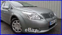 2011'61' Toyota Avensis 2.0 D4D Diesel Estate Sports Tourer Sat Nav New Shape