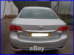 2012 Toyota Avensis Diesel Saloon 2.0 D-4d T2 4dr 6 Speed Manual