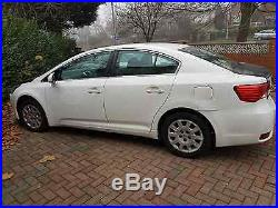 2012 Toyota Avensis T2 D-4d White Spares & Repairs
