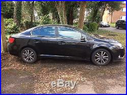 2012 TOYOTA AVENSIS TR D-4D BLACK Damaged salvage non runner spares or repair