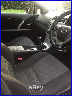 2012 Toyota Avensis Tr D-4d Red