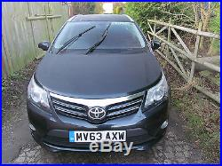 2013 63 Toyota Avensis Icon 2.0 D-4d Manual Diesel Estate Car, Toyota History