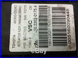 2017 Toyota Avensis Mk3 2.0 D-4D Handbrake Cable Mechanism 46300-05042