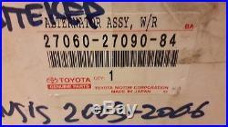 27060-27090-84 new OEM alternator Toyota Avensis/Corolla/Verso 2.0 D4D diesel