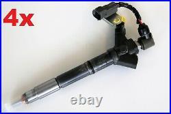 4x DENSO 295900-0110 Injektor Einspritzdüse Toyota Lexus 2.2 Diesel DCRI 200110