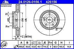 ATE BREMSSCHEIBEN 295mm + BREMSBELÄGE VORNE TOYOTA AVENSIS T27 + AURIS + VERSO