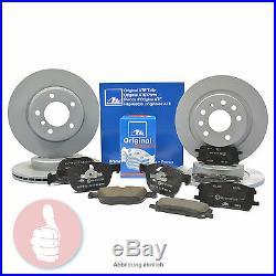 ATE Bremsscheiben V 295mm + H 280mm + Bremsbeläge VORNE + HINTEN TOYOTA AVENSIS