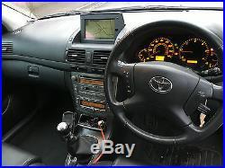 BARGAIN DIESEL 2005 Toyota Avensis ESTATE 2.2 D-4D DIESEL T Spirit 5dr SAT NAV