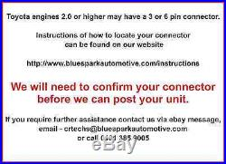 Bluespark Pro Toyota D-4D HDi Diesel Performance & Economy Tuning Chip Box