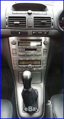 DIESEL 2005 Toyota Avensis D-4D DIESEL T Spirit 5dr SAT NAV