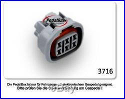 DTE PedalBox 3S für TOYOTA AVENSIS T25 93KW 03 2006-11 2008 2.0 D-4D Tuning