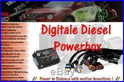 Digitale Diesel Chiptuning Box passend für Toyota Corolla Verso 2.2 D4D 136 PS