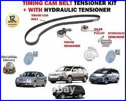 Fo Avensis Corolla Previa Rav4 2.0td D4d Timing Cam Hydraulic Tensioner Belt Kit