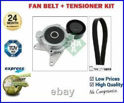 For Toyota Avensis 2.0 D4d 2.2d 2005-2018 Alternator Fan Belt + Tensioner Lever