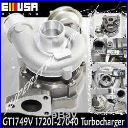 GT1749V 17201-27040 Turbo charger fits 01-03 Toyota Previa Rav4 Picnic Auris 2.0