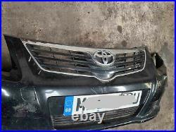 Genuine Front Bumper Toyota Avensis 2.0 D4d Diesel 09-12 Black