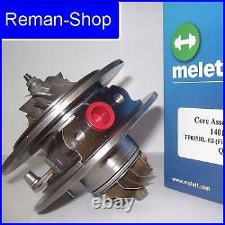 Genuine Melett UK turbocharger cartridge Toyota 2.0 D-4D 110 / 115 bhp 727210-1