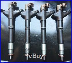 Injector DENSO Toyota AVENSIS Verso AURIS RAV4 2.0D4D 23670-0R100 295900-0180