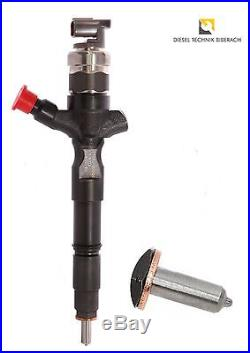 Injektor Einspritzdüse Toyota RAV 4 AVENSIS 2,0 D4D 110PS 116PS 23670-27030