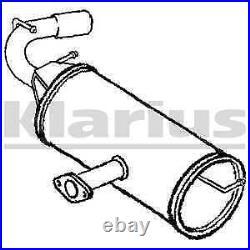 Klarius Rear Exhaust Back Box Silencer + Tail Pipe TY656X 5 YEAR WARRANTY