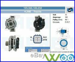 Lichtmaschine Generator TOYOTA AURIS COROLLA AVENSIS Verso VERSO 2.2 D 2.0 D-4D