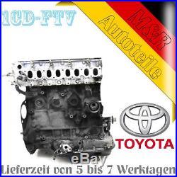 Motor Austauschmotor Toyota 2.0 D-4D Avensis 1CD-FTV COROLLA RAV 4 -2000 bis2007