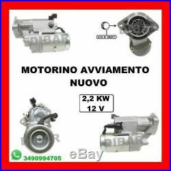 Motorino DI Avviamento Nuovo Toyota Avensis-rav4-corolla 2.0-2.2d-4d 28100-64140