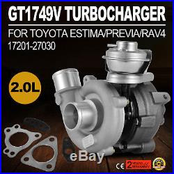 PRO 17201 for Toyota Auris Avensis Picnic RAV4 2.0 D-4D Turbo charger High