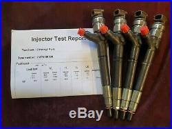 Recondition Set Of 4 Toyota Avensis 2.0 D-4d Denso Diesel Injector 23670-0r190
