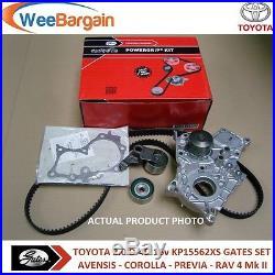 TOYOTA RAV 4 2.0 D-4D 4WD Circoli Water Pump Timing Belt Kit 2001-2005