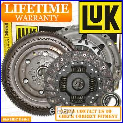 TOYOTA AVENSIS 2.0D4D LuK Dual Mass Flywheel & Clutch Kit 126 02/09- SLN 1ADFTV