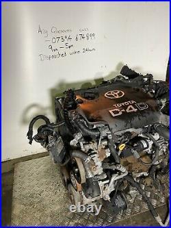TOYOTA AVENSIS 2003-2008 2.0 DIESEL D4D ENGINE E1CD-C90 Complete 87k Miles