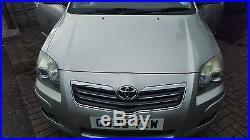 Toyota Avensis 2006 D-4d T180 Silver, Ac, Sat Nav, Fsh, Half Leather Seats, Dash Cam