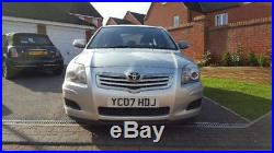 TOYOTA AVENSIS D-4D T3-S with Sat Nav