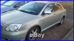 Toyota Avensis T3-x D-4d Silver 55 Plate My Silver Saloon Low Miles No Reserve