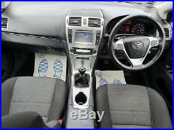 TOYOTA AVENSIS TR 2.0 D-4D 4 Door Saloon low millage Full history + navigation