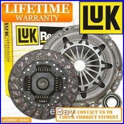 TOYOTA COROLLA Verso 2.0D4D LuK 3 Piece Clutch Kit + Bearing 116 04/04-03/09 MPV